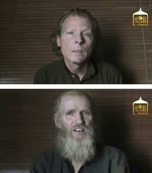 Hostage says hope helped him survive Taliban captivity