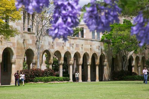 UQ Great Court, St Lucia campus