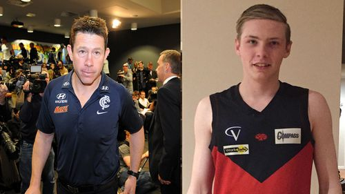 Former Carlton coach Brett Ratten's son Cooper died in a car crash this morning. (Supplied)