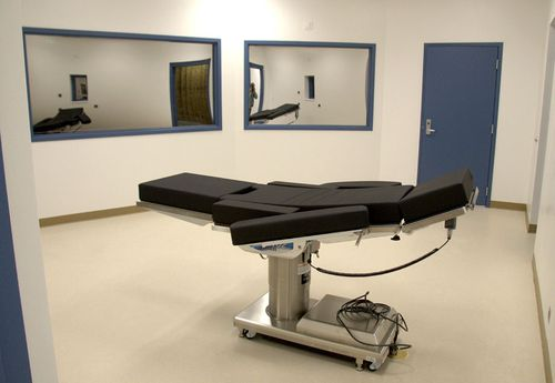 Nevada's prisoner execution unit in Ely prison where Scott Dozier was held on death row.