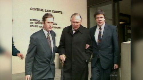 Mr Bond served four years in jail in the late 1990s over corporate fraud charges. (9NEWS)