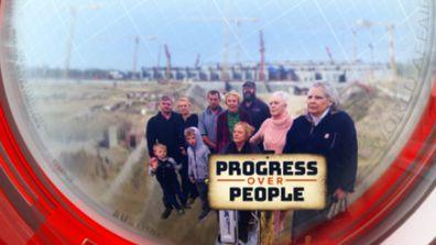 Progress over people