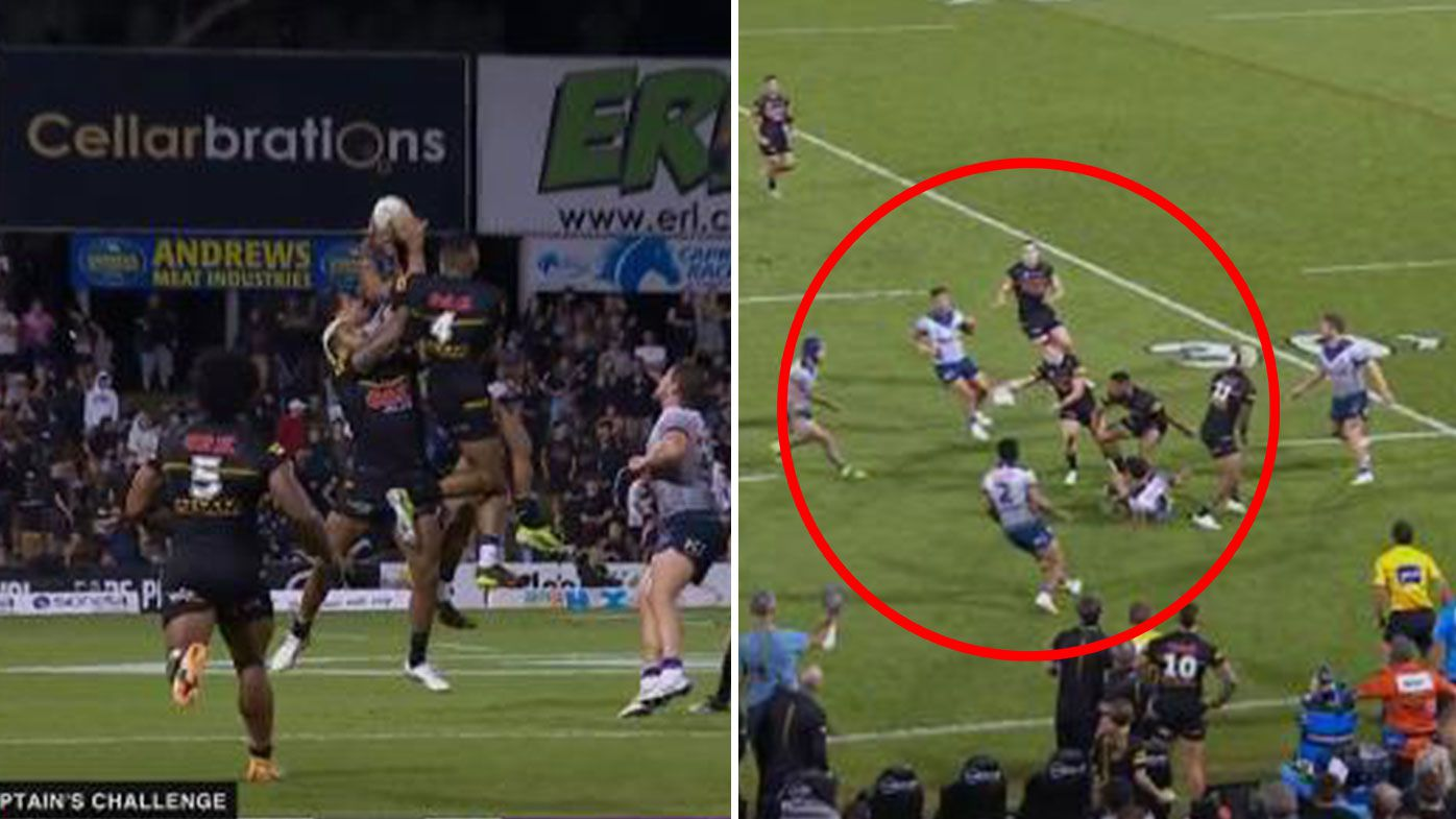 'Obvious offside': Controversial no-call mars Penrith's win over Melbourne
