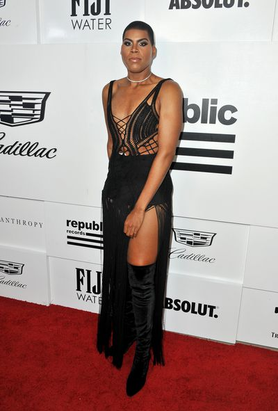 EJ Johnson at the VMA after party hosted by Republic Records  on August 27, 2017 in LA