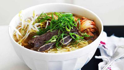 Beef short-rib soup