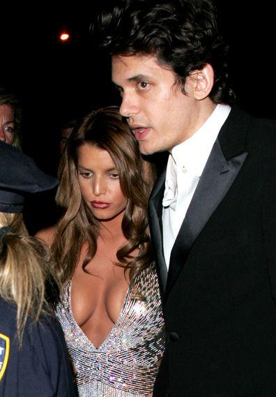 Jessica Simpson, John Mayer, Met Gala
