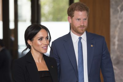 Prince Harry and Meghan Markle, September 2018