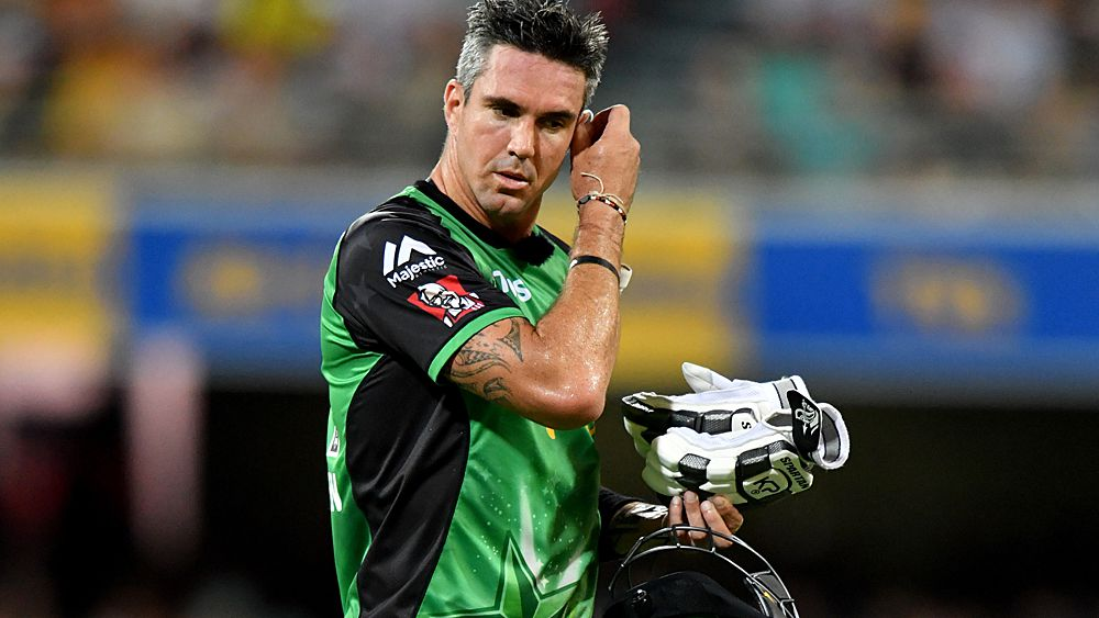 BBL: Kevin Pietersen announces cricket retirement after Melbourne Stars' loss to Renegades