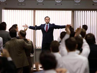 <strong>Best Motion Picture - Musical or Comedy: </strong> <strong> <em>The Wolf Of Wall Street</em> </strong> <p> <i>The Wolf Of Wall Street</i> was nominated in the musical or comedy category.