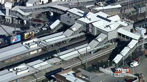 Elderly woman struck by train at Sydney station