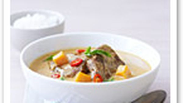 Mussaman lamb curry
