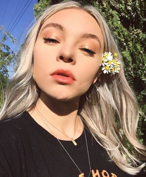 Actress Taylor Hickson is suing a film production company over an horrific on-set incident. (Instagram)