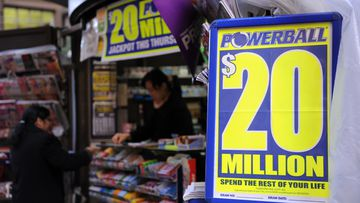 A NZ man tried to go to work the day after winning $17m through Powerball (AAP Image/Tracey Nearmy)