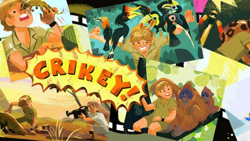 Steve Irwin is remembered for his use of iconic Australian slang such as the word 'crikey'
