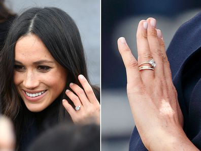 Meghan Markle has redesigned her engagement ring