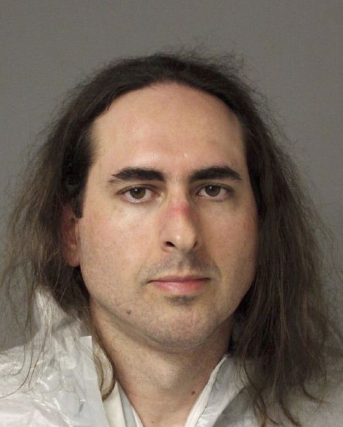 In this June 28, 2018, file photo released by the Anne Arundel Police, Jarrod Warren Ramos poses for a photo in Annapolis, Md. Norfolk police spokesman Daniel Hudson says the letter arrived Thursday, July 5, at The Virginian-Pilot. He says the sender is Jarrod Ramos, who's accused of killing five people at the Capital Gazette newsroom in Annapolis last week. Hudson said police gave the letter to the FBI. He declined to say whether it's addressed to anyone in particular. (Anne Arundel Police via AP, File)