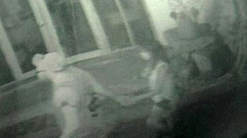 Police have released CCTV footage of the pair before they were killed near their bungalow. (Picture: supplied)