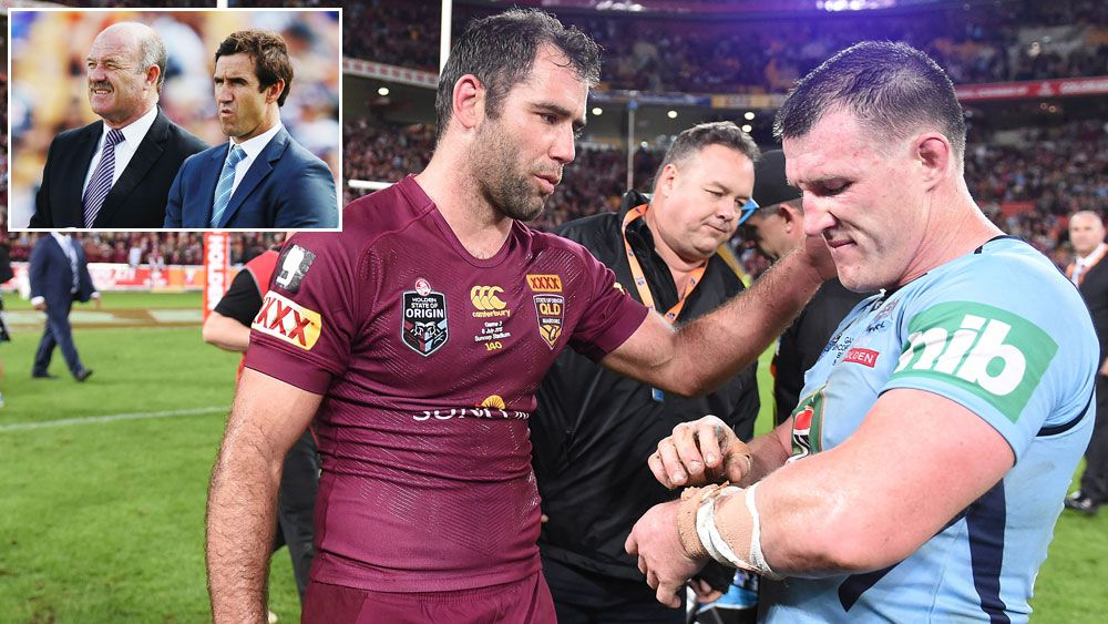 NSW's embarrassing loss in game III last year can inspire the Blues, according to Andrew Johns and Wally Lewis. (AAP)