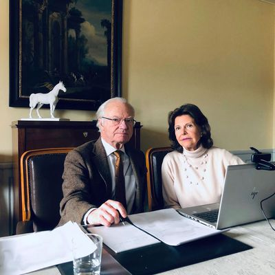 Swedish royals in isolation, March 2020