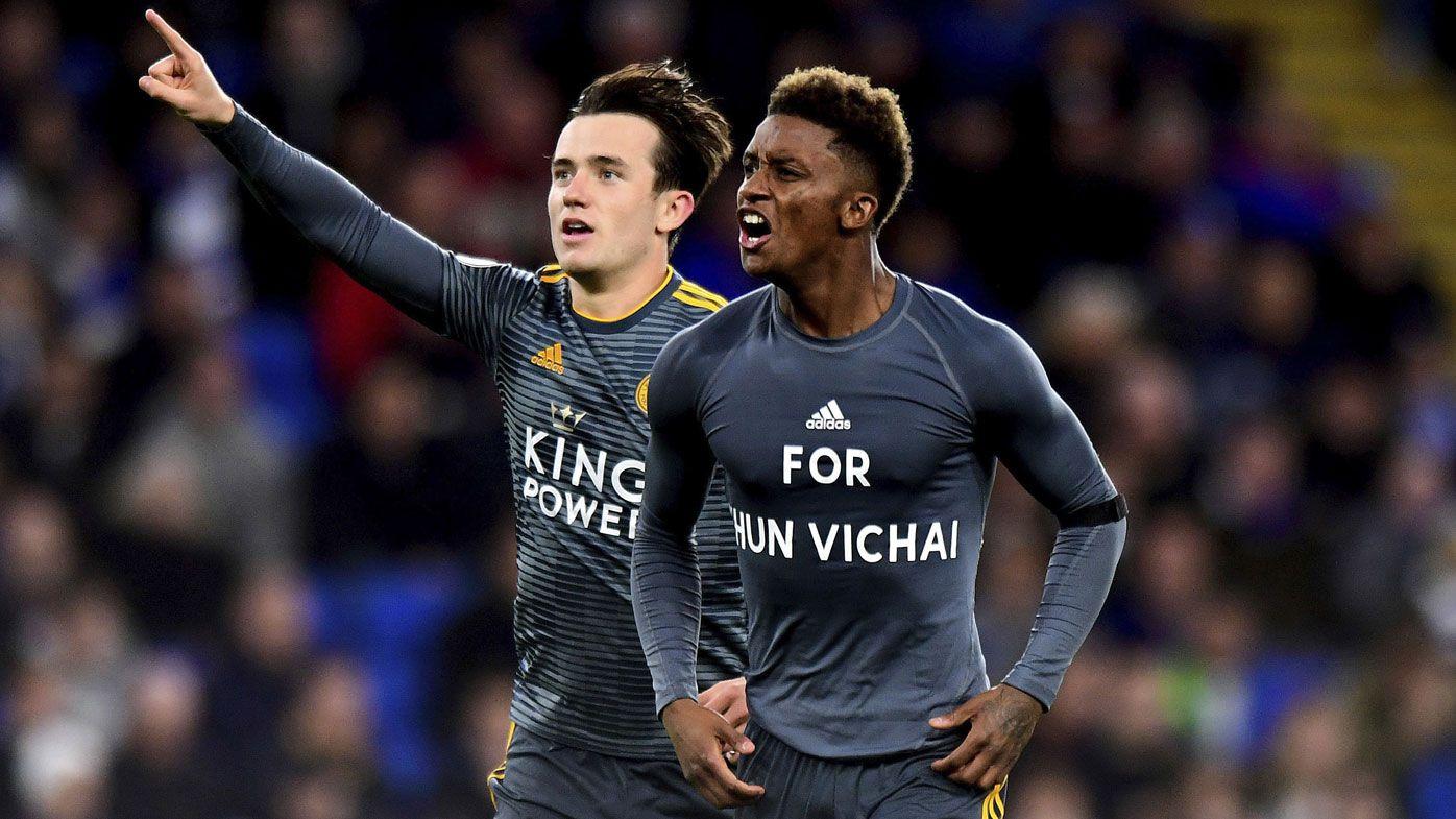 Leicester City scores emotional Premier League win after chopper tragedy