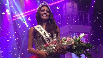 Kristhielee Caride Miss Puerto Rico Universe 2016 title