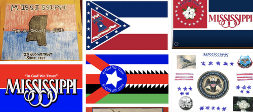 Magnolias, stars, a Gulf Coast lighthouse, a teddy bear, and even Kermit the Frog appear on some of the proposals submitted by the general public for a new Mississippi flag.