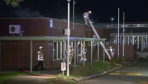 Fire tears through Adelaide primary school overnight