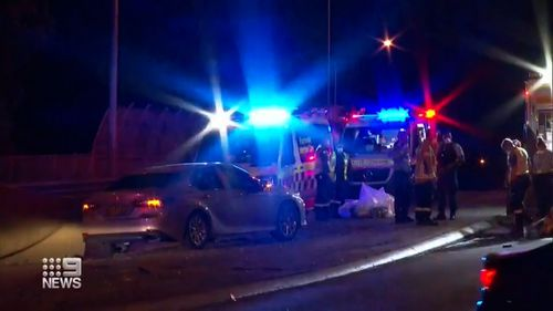 The truck allegedly hit the van, which crushed the driver, and also hit another car in the deadly crash.