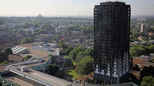 Grenfell Tower. (AAP)