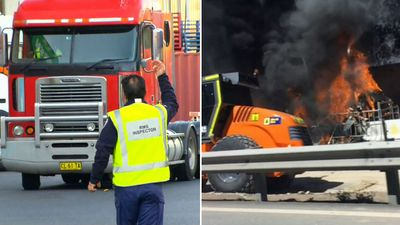 Police raid transport company for truck explosion