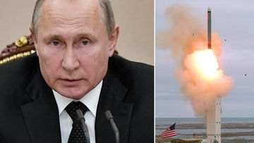 Putin orders military 'to respond' after US missile test