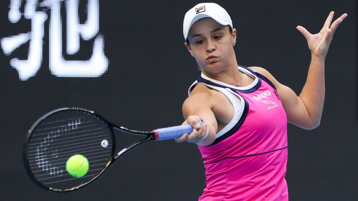 Ashleigh Barty sets up China Open final showdown with Naomi Osaka