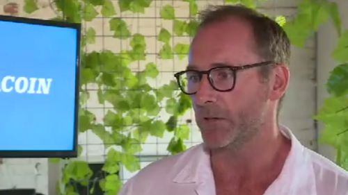 Mr Hurley described Strayacoin as a fully functioning parody. (9NEWS)