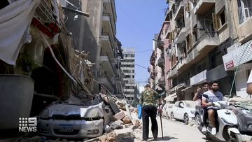 Rescuers flown to Beirut blast centre as survivors pulled from rubble