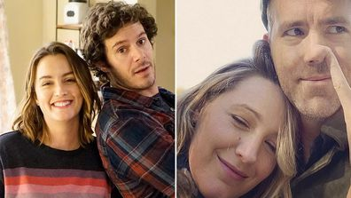 Celebrity couples who met on set: Leighton Meester and Adam Brody and Blake Lively and Ryan Reynolds