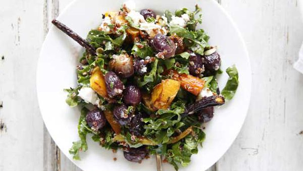 Brooke Meredith's summer grape salad