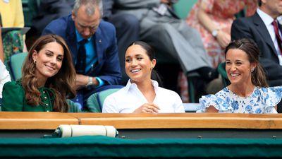 Kate, Meghan and Pippa Middleton, Wimbledon 2019