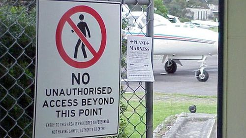 Pilots worried about lack of security at Bankstown Airport