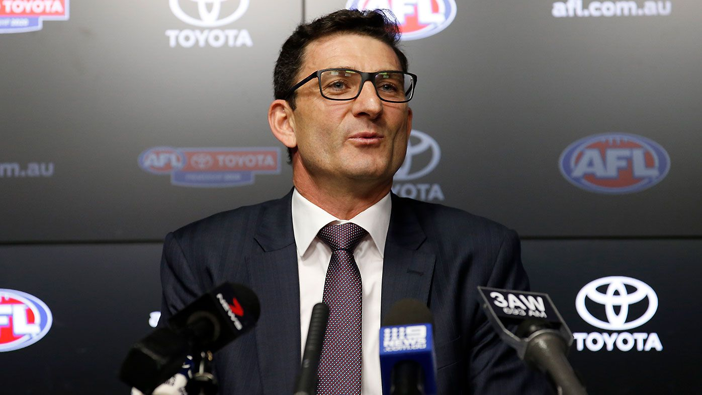 AFL fixtures boss Travis Auld concedes quarantine hubs the 'only' way to restart season
