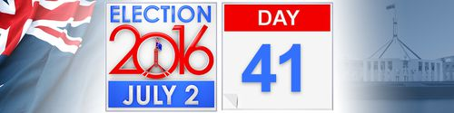 Day 41 of the federal election campaign
