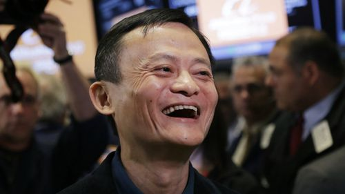 'We have a dream': Chinese online giant Alibaba surges in largest-ever Wall Street debut