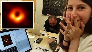 Black hole grad student Katie Bouman