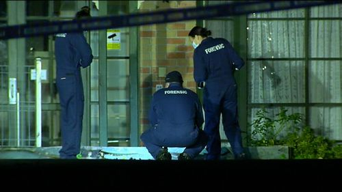 Forensic officers are now working to piece together the moments before the assault. (9NEWS)