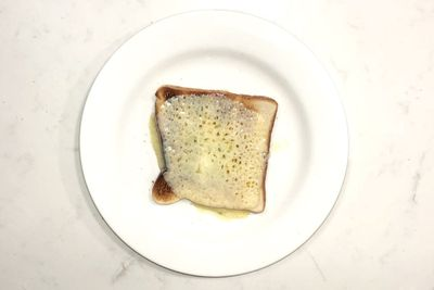 Cheese on toast: 184 calories