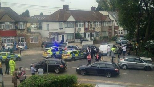 Police allege the pensioner was attacked in the garden of her north London home.