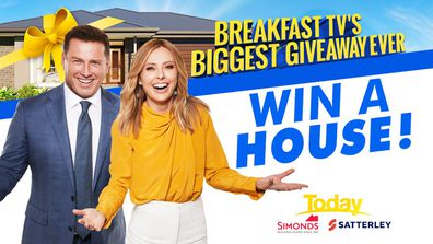 Win a house promotion