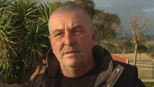 Greyhound trainer Andy Lord.