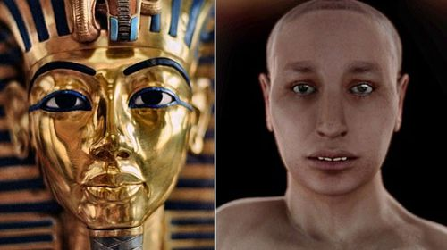 Tutankhamun had 'buck teeth' and 'women's hips' according to virtual autopsy