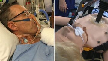 Health News Australia Lucas auto CPR machine Sydney Hospitals trial technology