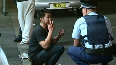 Nattapat Penpanussak was walking on Pitt Street, Sydney in October 2013 when he saw a man violently stabbing three backpackers. He grabbed the attacker and punched him, but suffered cuts to his chest, arms and hand in the process. With a security guard, Mr Penpanussak was able to detain the man until police arrived. (9NEWS)
